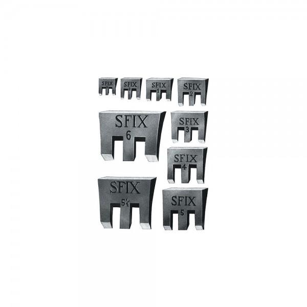 Hammerkeil SFIX-Keil, Temperguss, Varianten 13-50 mm