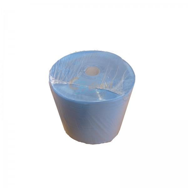 1 Rolle Putzpapier blau 3-lagig 38x35cm a 1000 Blatt Putzpapierrolle Papierrolle