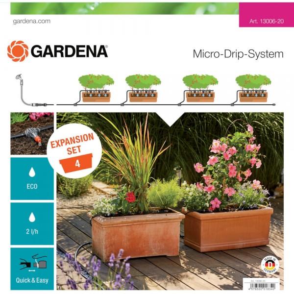 Gardena MDS Erweiterungsset Pflanztöpfe 13006
