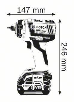 Bosch Cordless trapano GSR 18V-CE FC2 con SDS registrazione solista modello  06019E1109