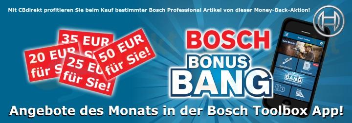 Bosch Bonus Bang Couponing Programm