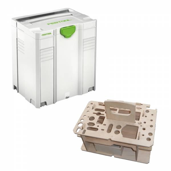 Festool T-Loc Systainer SYS 5 TL + HWZ Einsatz Holzeinsatz 497567HWZ