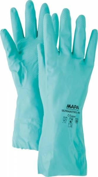 Handschuhe Ultranitril 492 grün VPE 10