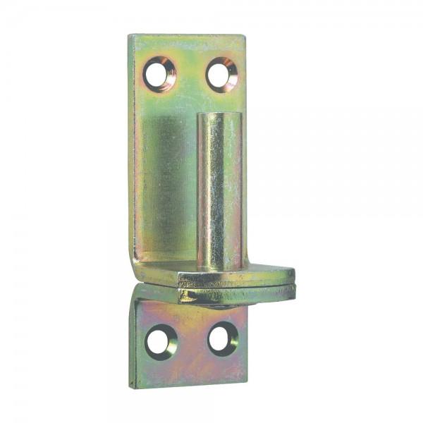 Aufschraub-Haken DI D16mm gelb verz./eng VPE 10