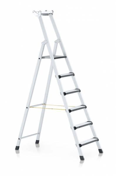 Zarges Comfortstep S - LM-Stufen-Stehleiter 6 Stufen 41424