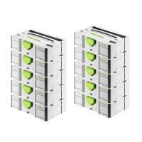 10x Festool Mini-Systainer T-Loc Sys-Mini TL Tloc 499622