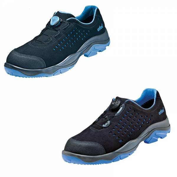 Schuhe & Stiefel Atlas Sicherheitsschuh Sl 9205 Xp Boa Green Esd S1p Arbeitsschuh Halbschuh