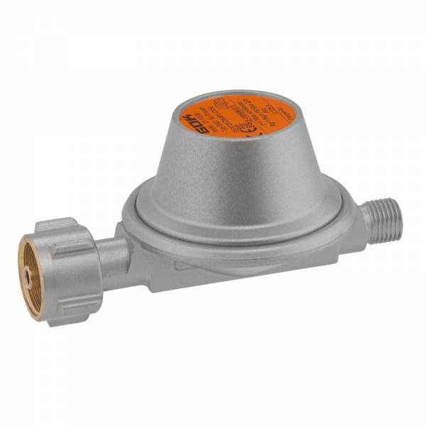 GOK Gasregler Caramatic BasicOne Typ EN61 KLF x G 1/4 LH-KN 50 mbar 1,5 kg/h