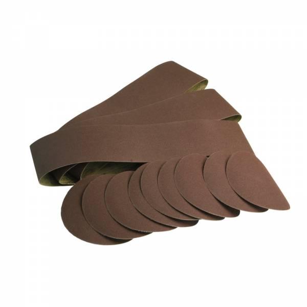 scheppach Schleif-Set 12-teilig für BTS 800 und BTS 900 Band- und Tellerschleifer 7903302601