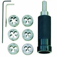 PROXXON Schneideisenhalter mit Schneideisen M 3 - 10 24082