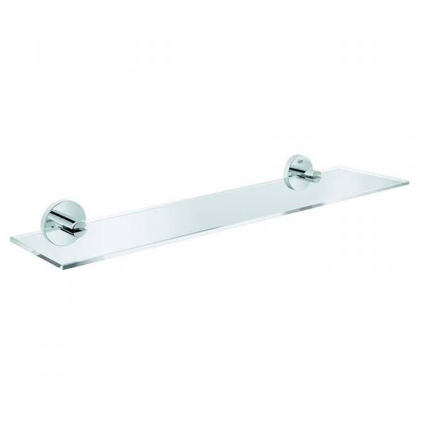GROHE Ablage Essentials 40799 600mm Material Glas / Metall chrom