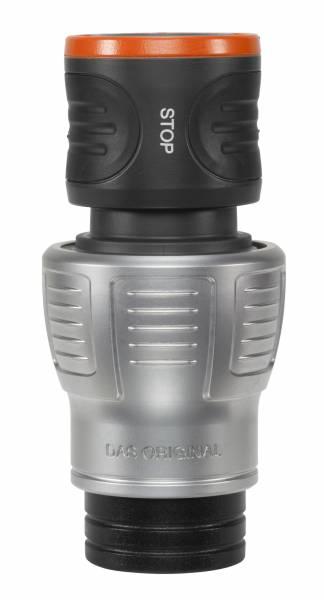 Gardena Premium Wasserstop 3//4/'/' 19 mm lose 18254 Adapter Steckverbindung