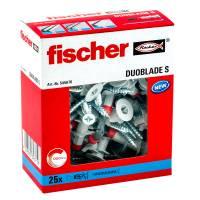 50x Fischer Gipskartondübel DUOBLADE S 545676 mit Schrauben