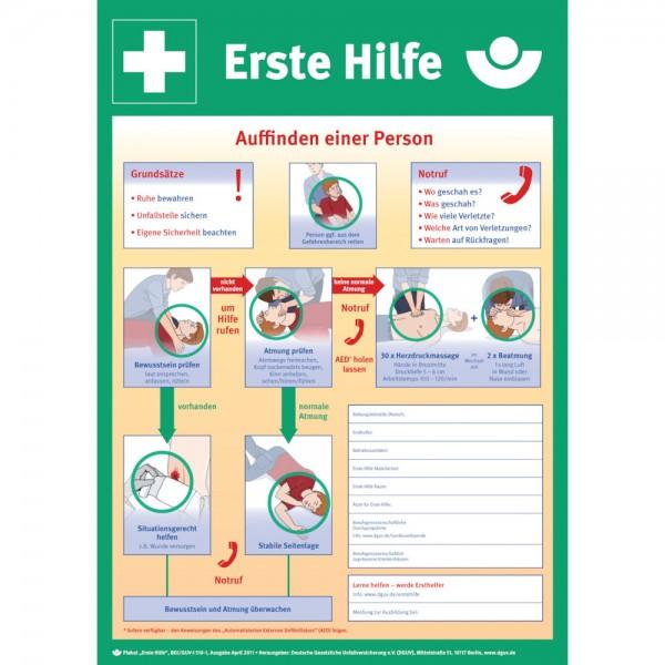 Anleitung Ersten Hilfe Kunststoff (PVC)
