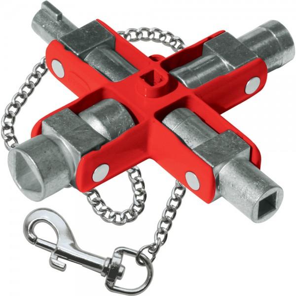 Schaltschrankschlüssel Master 9in1 SuB
