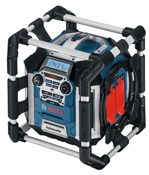 BOSCH Radiolader GML 50 Power Box 14,4 / 18 V UKW/MW MP3 USB SD Click&Go