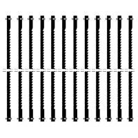 Proxxon Standard-Feinschnitt-Sägeblätter mit Querstift 127 mm für Dekupiersäge 12 Sägeblätter