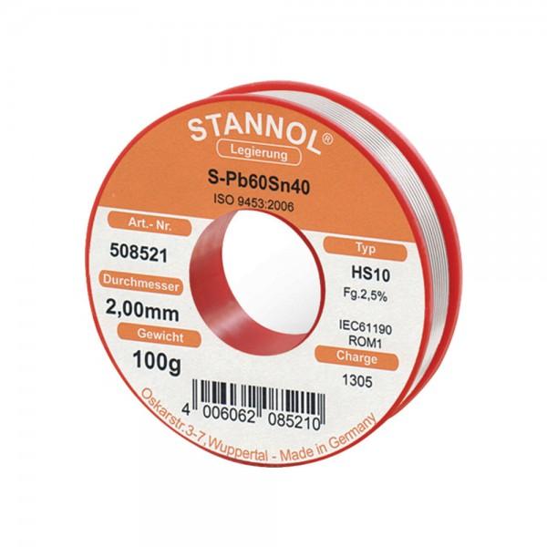 Radiolot Nr.508480 250g Stannol