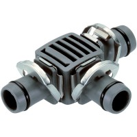 2x Gardena MDS T-Stück 1/2 8329 Micro-Drip-System 13 mm