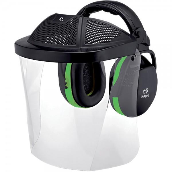 Kopfschutzset Kapsel, PC-Scheibe