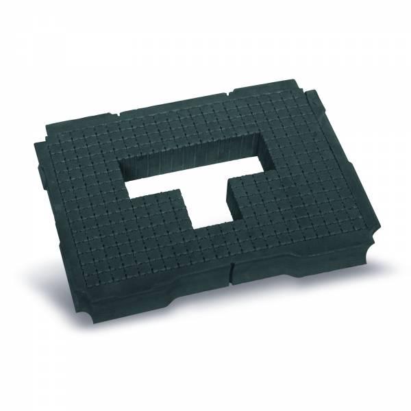 Tanos Würfelmittelpolster 50 mm hart für Systainer T-Loc
