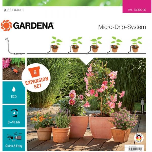 Gardena MDS Erweiterungsset Pflanztöpfe 13005