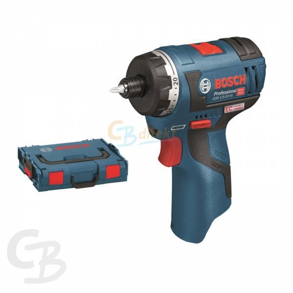 Bosch Cordless screwdriver GSR 12V-20 HX /  10.8 V-EC HX solo with L-BOXX