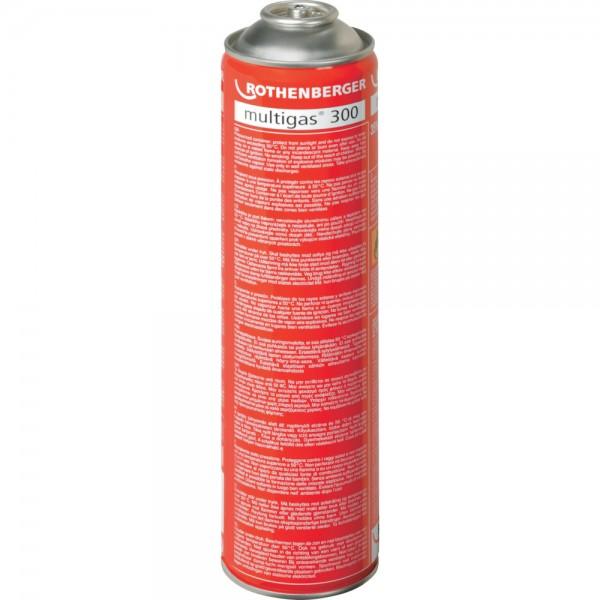 Multigas 300 Kartusche 600ml Rothenberger