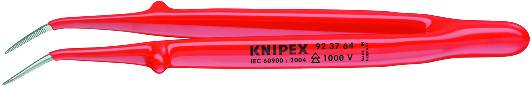 KNIPEX 92 37 64 Präzisions-Pinzette isoliert 150 mm