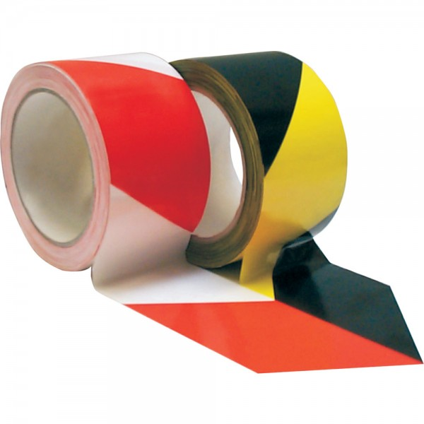 Warnband selbstklebend 66mx60mm gelb/schwarz