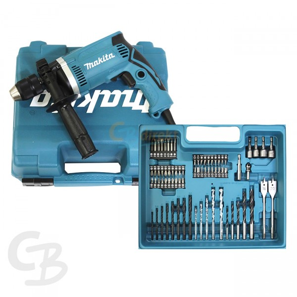 makita perceuse percussion hp1631kx3 avec 710 watt 74