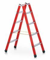 Zarges EFAmix B - Kst-Stufen-Stehleiter 2 x 8 Sprossen 41168