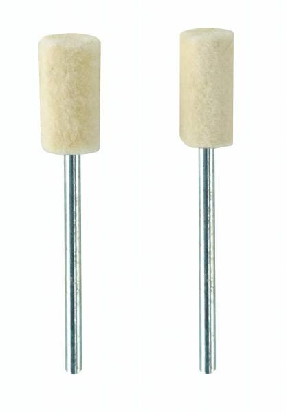 PROXXON Filzpolierstift, Zylinder, 2 Stück 28802