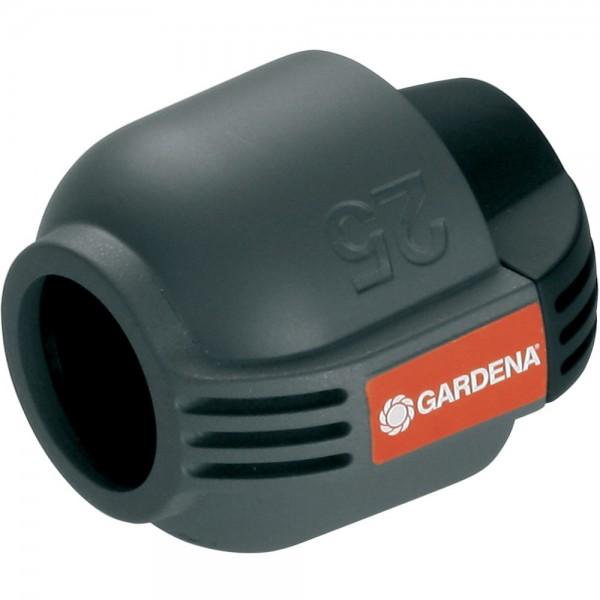 Gardena Sprinklersystem Endstück 25 mm Quick + Easy 2778 Neu Sprinkler