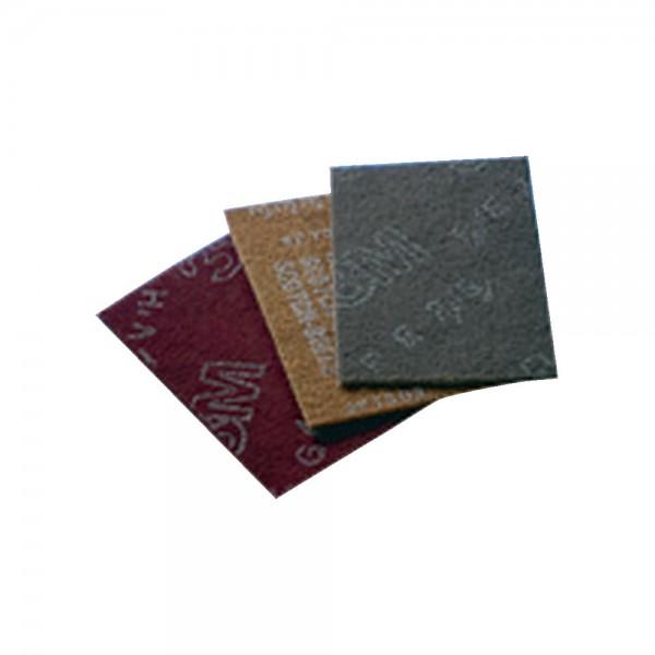 3M Scotch Brite Handpad CF-HP 7447 158 x 224 mm Rot sehr fein 20 Stück