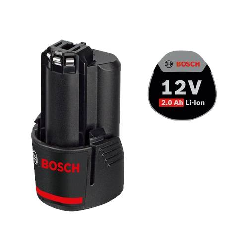 Bosch 12V Akku GBA 10,8 V 2,0 Ah, O-B Ersatzakku 12 Volt