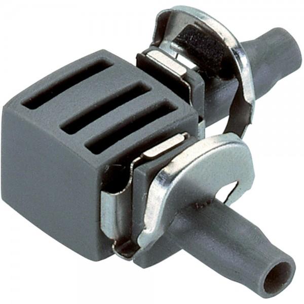 """10x Gardena MDS L-Stück 3/16"""" - 4,6 mm 8381 Micro-Drip-System"""