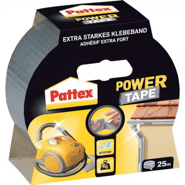 Pattex Power Tape 50mm x 50m, silber VPE 12