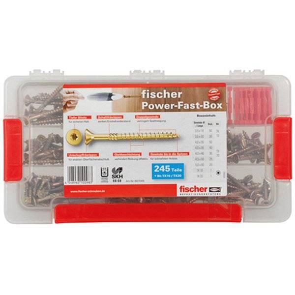 fischer Power-Fast Box 245 tlg.