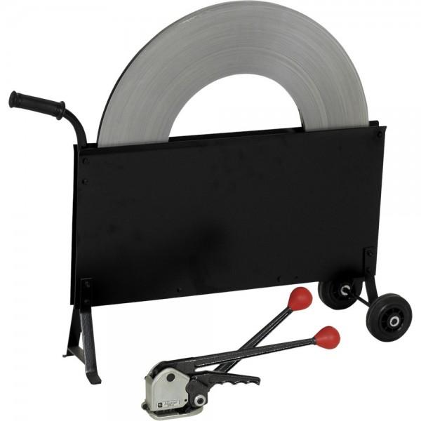 Stahlbandumreifungsset 13-19 mm hülsenlos