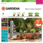 Gardena MDS Start-Set Pflanztöpfe M Automatic Micro-Drip-System 13002 MPN: 13002-20