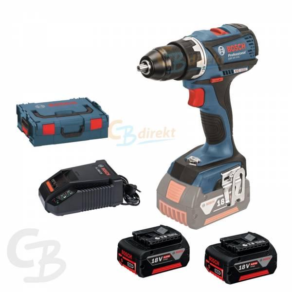 Bosch taladro gsr 18v ec metallfutter 2 bater as l boxx - Taladros de bateria bosch ...