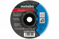 Metabo 3 Combinator 76x2,0x10 mm, Inox, Trenn- u. Schruppscheibe, gekröpfte Ausführung 626872000