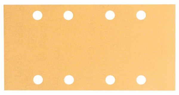 BOSCH SCHLEIFBLATT C470, 93 X 186 MM, 240, 8 LÖCHER, KLETT, 50ER-PACK 2608607974