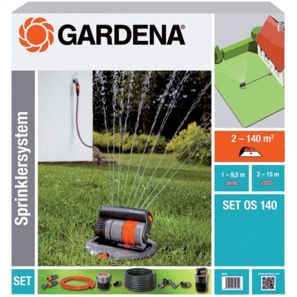 Gardena Sprinklersystem Anschluss Set Alt auf Neu 1513 2763 Set Sprinkler