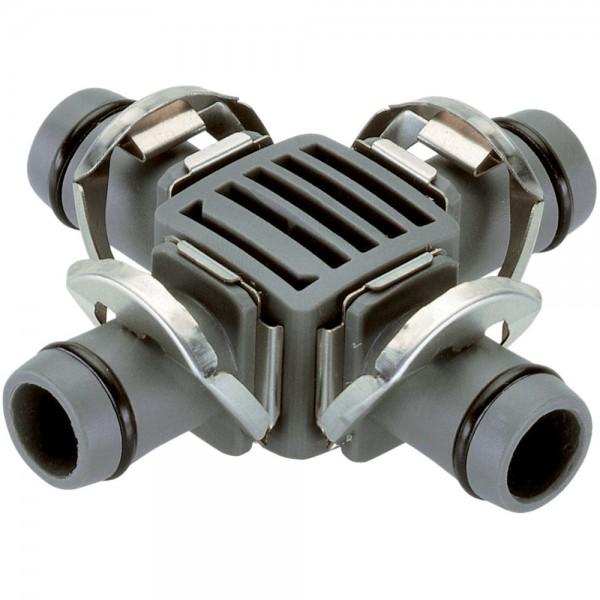 "2x Gardena MDS Kreuzstück 1/2 "" - 13 mm 8339 Micro-Drip-System"