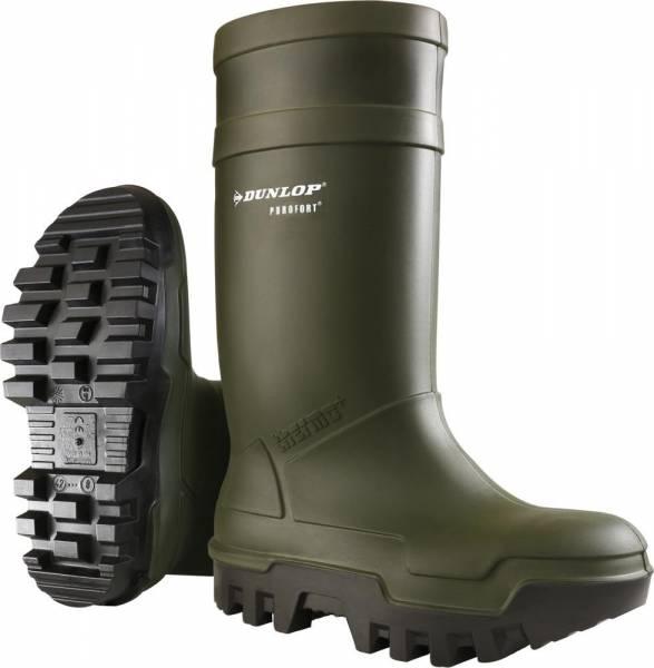 Dunlop Sicherheitsstiefel Purofort Thermo+ full safety S5 CI SRC dunkelgrün
