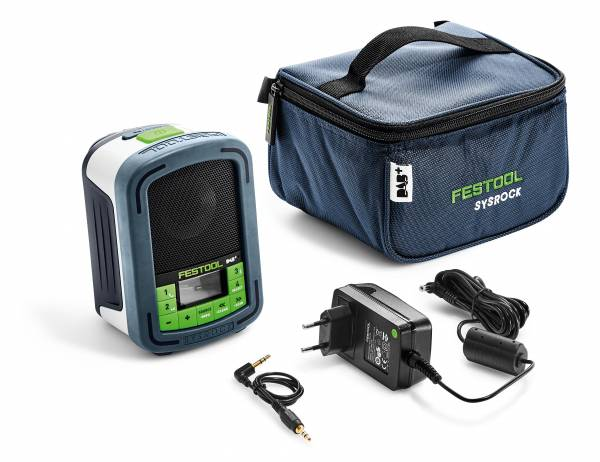 Festool Digitalradio BR 10 DAB+ SYSROCK 202111