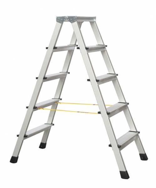 Zarges XLstep B - LM-Stufen-Stehleiter 2 x 5 Stufen 41265