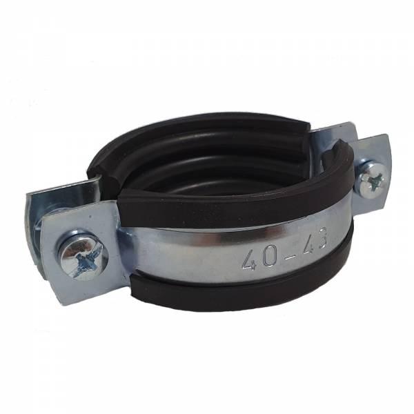 Schraubrohrschelle 40-43 mm M8 1 1/4 Zoll